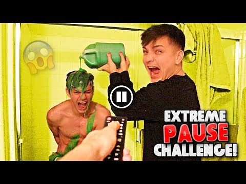 EXTREME PAUSE CHALLENGE for 24 HOURS *IN PUBLIC*