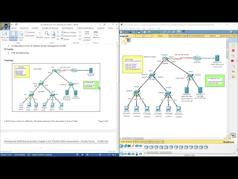 Routing and Switching Essentials Chapter 7 Practice Skills Assessment
