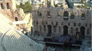 ГРЕЦИЯ: Акрополь - Амфитеатр... Афины... Греция (Acropolis Athens Greece)(Ответы на вопросы http://anzortv.com/forum Смотрите всё путешествие на моем блоге http://anzor.tv/ Мои видео путешествия по..., 2012-09-30T20:46:03.000Z)