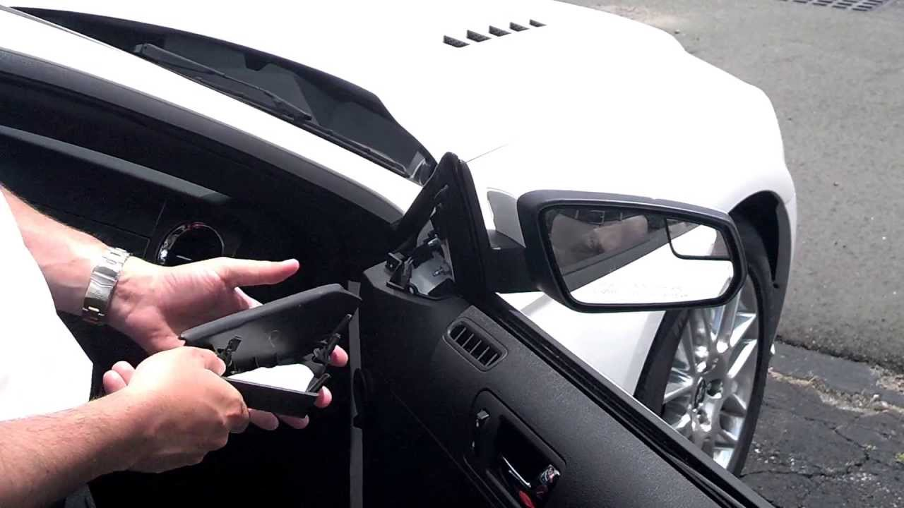 How To Change A Mirror On Mustang 2010 2014 By Jz Youtube