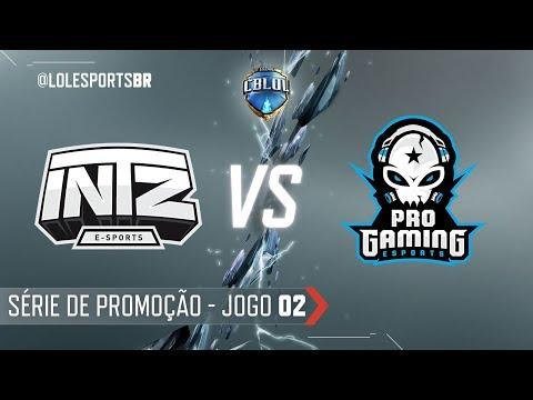CBLoL 2018: INTZ x ProGaming (Jogo 2) | Série de Promoção - 1ª Etapa