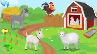 Развивающий Мультфильм для Детей от 3 до 36 месяцев про животных