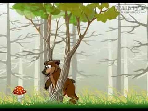Мультфильм заяц медведь