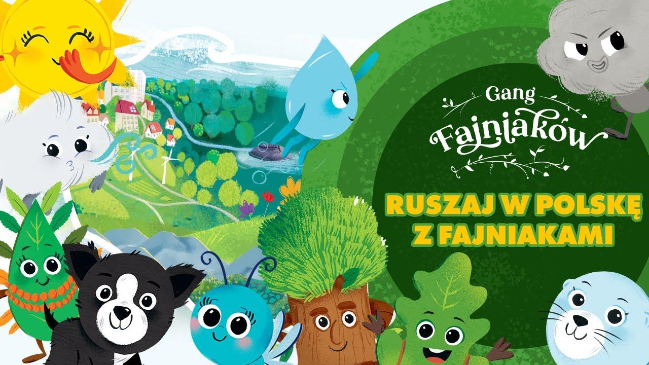 Piosenka Gang Fajniakow Ruszaj W Polske Z Fajniakami Youtube