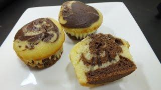 ماربل كب كيك:الرخامية Marple cup cake  مطبخ أفنان - Afnan's Kitchen