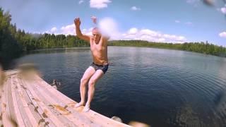 Не Подводная охота озеро Сильма. El lago Silma.