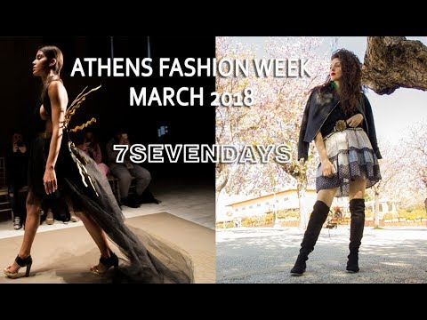 Athens Fashion Week, AXDW 2018 March and cocktail with Acropolis view