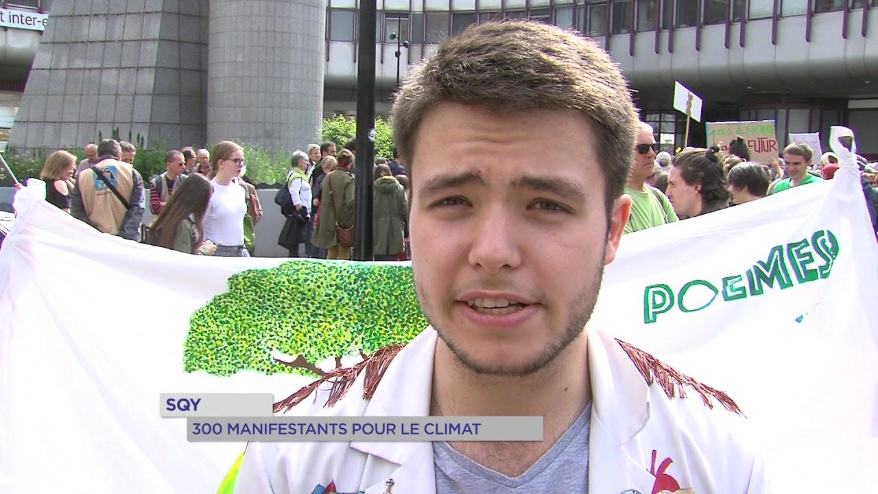 Yvelines | SQY : 300 manifestants pour le climat