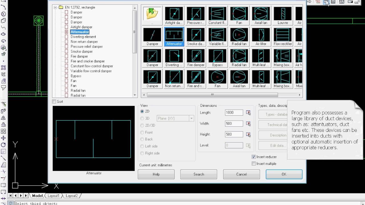 Cadprofi Hvac Piping Drawing Air Condition Installations Youtube