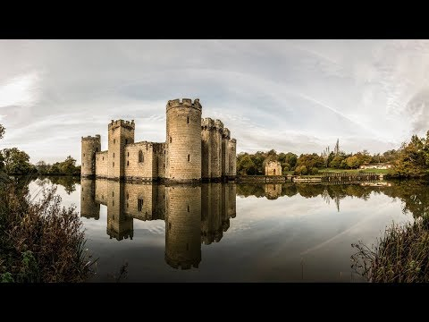 Bodiam Castle a beautiful morning with the sony rx10iv