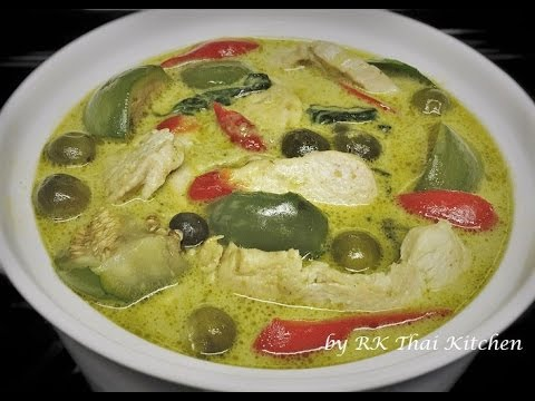 thai kitchen green curry chicken green curry with chicken แกงเข ยวหวานไก thai food rk 8443