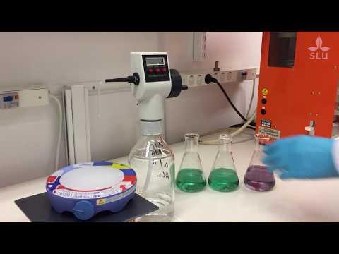 Determination of crude protein using the Kjeldahl method