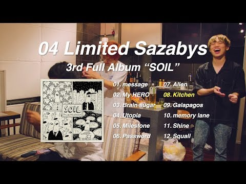 """04 Limited Sazabys / 3rd Full Album """"SOIL"""" trailer"""