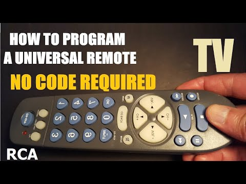 How To Program A Universal TV Remote Control Without A Code