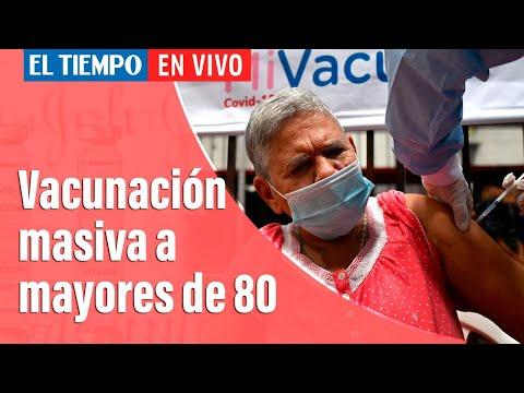 Coronavirus En Colombia: Mañana iniciará la vacunación masiva a mayores de 80 años en Bogotá