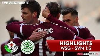 tipico Bundesliga, 18. Runde: WSG Tirol - SV Mattersburg 1:3
