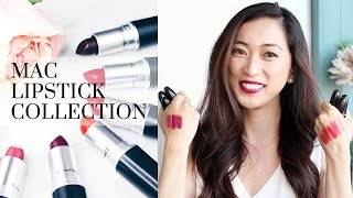 Mac Lipstick Collection 2016, mac lipsticks, lipsticks