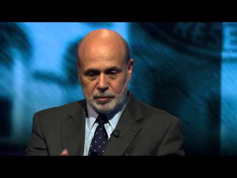 Former Chairman of the Federal Reserve Ben Bernanke on Newsnight