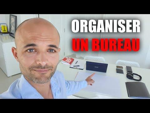 Comment organiser son bureau : 15 astuces