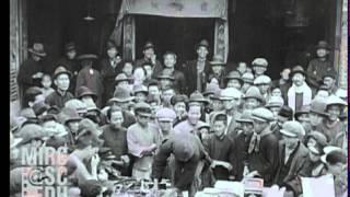 1930年臺灣日治時期路邊市場即景(影片前段有重複請仔細看完)請開聲音 thumbnail