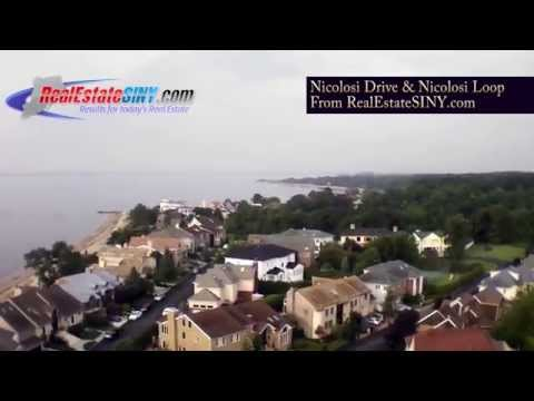 From Above: Nicolosi Drive and Nicolosi Loop, Staten Island