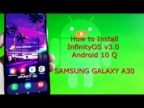 Samsung Galaxy A30: InfinityOS v3.0 OneUI 2.5 Android 10 Q Released!
