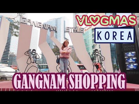 Shopping in Gangnam | Vlogmas #24 |  KimDao in KOREA