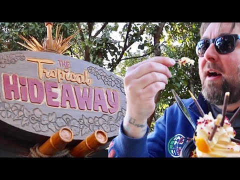 The Tropical Hideaway is OPEN at Disneyland ! NEW Foods & Dole Whips / Rosita Animatronic is HERE