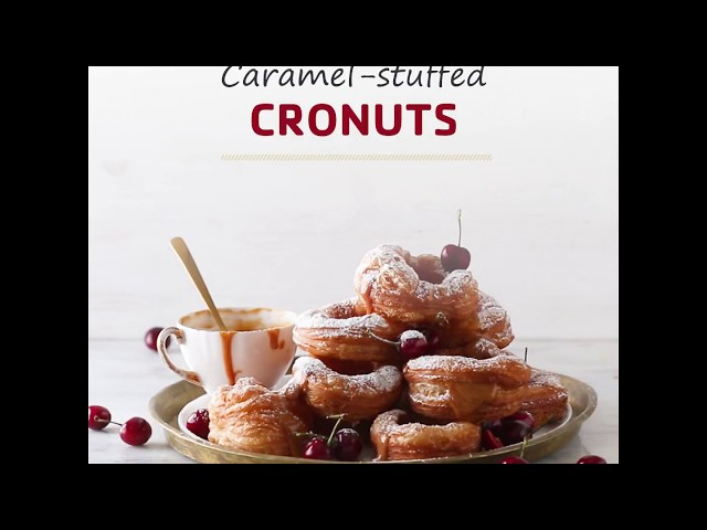 Caramel Cronuts