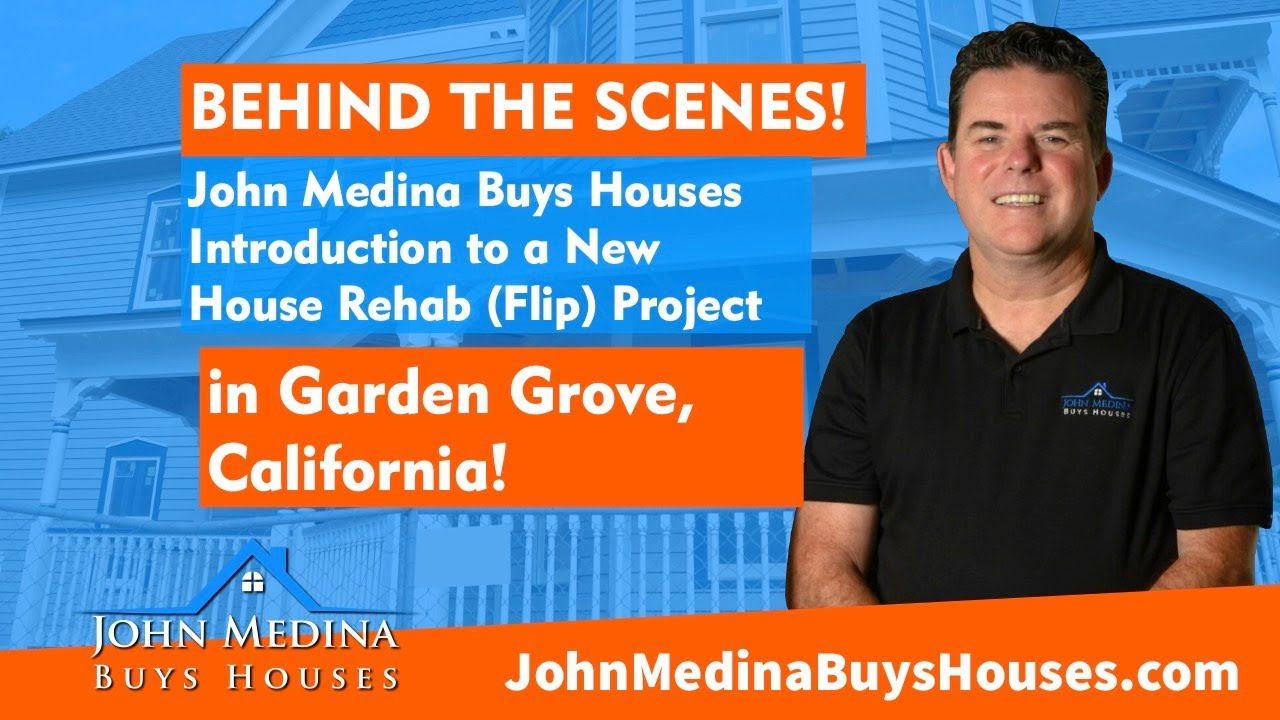 "Part 1 - John Medina Buys Houses in Garden Grove, California  House Flip Project Tour ""Before."""
