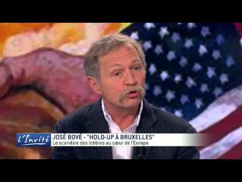 """JOSE BOVE : """"Je dénonce le pillage organisé de l'Europe"""""""