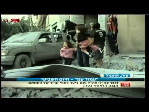 Prof. Gerald Steinberg, IBA Hebrew News, Pillar of Defense, November 20, 2012 (Part 1)