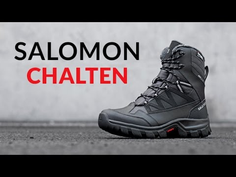 Salomon Chalten Ts Cs Waterproof Snow Boot Womens