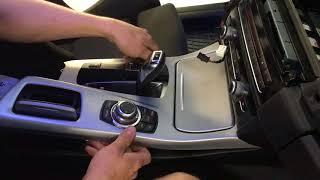 Mittelkonsole abbauen BMW F10/F11 Демонтаж средней панели