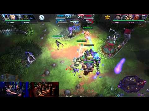 Evil Geniuses vs. Fnatic -Semifinals- Heroes of the Storm Exhibition Tournament 2014