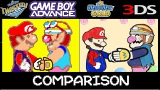 WarioWare Twisted vs WarioWare Gold Microgame comparison.