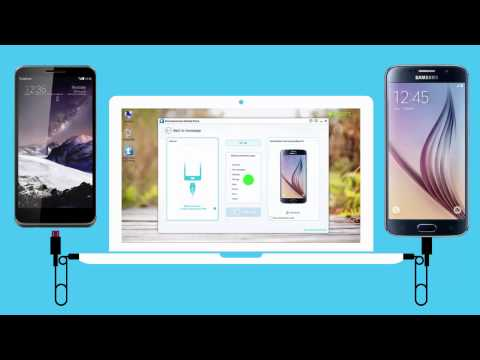 How to Transfer Data from Vodafone Smart 4 max to Samsung Galaxy S6 ?