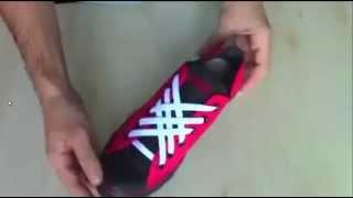 5 способов оригинального завязывания шнурков