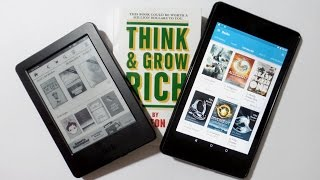 EREADER VS TABLET VS BOOK DIFFERENCES!