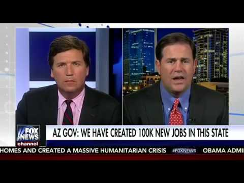Doug Ducey Interviews With Tucker Carlson