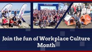 Join the fun of Workplace Culture Month - Corporate Challenge Events