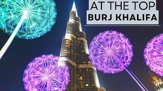 BURJ KHALIFA - VIEW FROM AT THE TOP   DUBAI