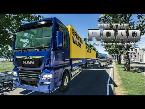 ON THE ROAD #7: Die TOUR mit dem GIGALINER! | LKW-Simulator OTR