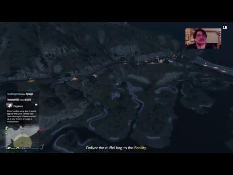 GTA Online! Since H1Z1 wont work. Rolling the Doomsday heist! Interactive Livestreamer
