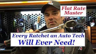 Every Ratchet an Auto Tech Will Ever Need!!
