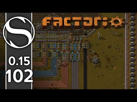 The Quest For The Atomic Bomb | Factorio 0.15 Part 102