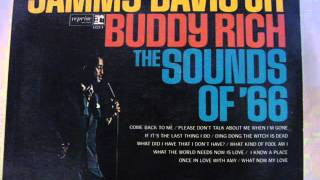 Sammy Davis Jr. with Buddy Rich - Come Back To Me