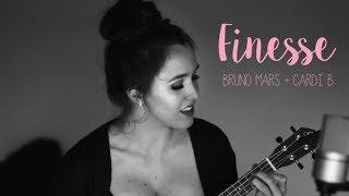Finesse (Remix) Bruno Mars ft. Cardi B // (Live ukelele cover)