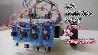 How To Make Line Follower Robot Using PID Controller | Maze Solver Robot Using Arduino At Home