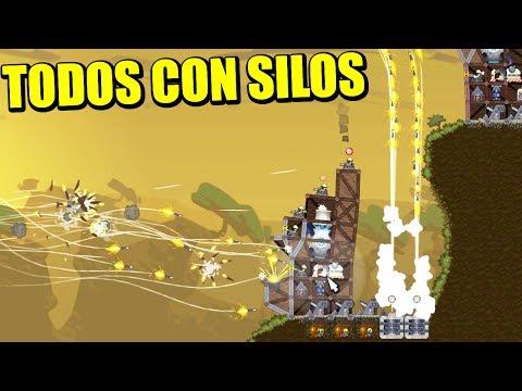 FORTS - TODOS A SILOS... LA FIESTA DEL MISIL | Gameplay Español
